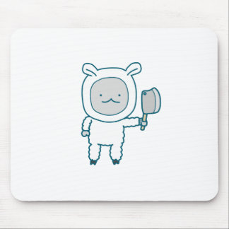 Lamp Chop Mouse Pad