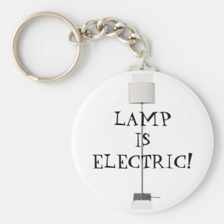 Lamp is Electric! Keychain