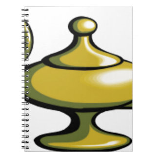 lamp light of joy notebook