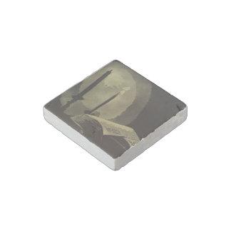 """Lamp"" Natural Stone Magnet"