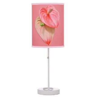 Lamp - Oilcloth Flower