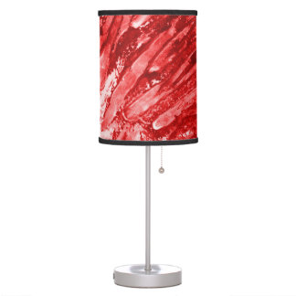 Lamp Shade in Hot Fire Red