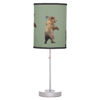 Lamp w/ golfing bear
