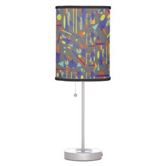 """Lamp with """"Geo-Crazy"""" design"""