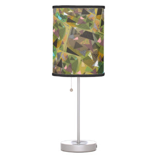 """Lamp with """"Triangles Foliage"""" condensed"""