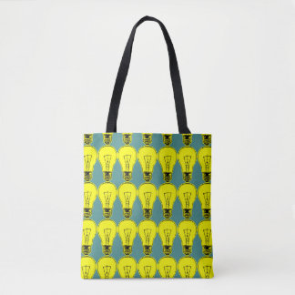 Lamp Yellow Tote Bag