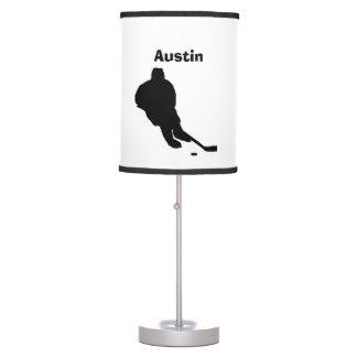 Lampe personnalisée d'hockey
