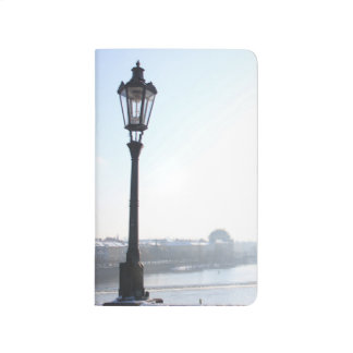 Lamppost on Charles Bridge (Prague) Journal