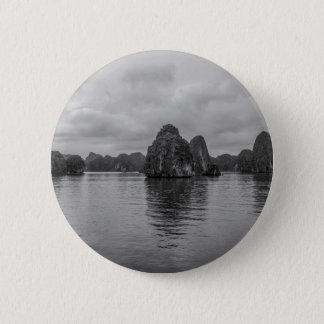 Lan Ha Bay Karst rocks Vietnam 2 Inch Round Button