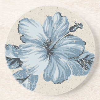 Lanai Hibiscus Hawaiian Tiki Bar Coasters