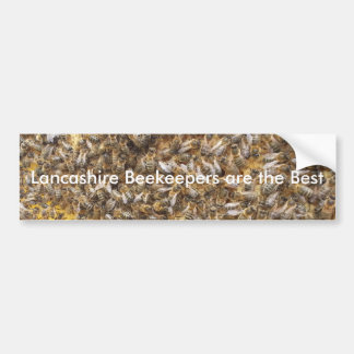 Lancashire Beekeepers are the Best Bumper Sticker
