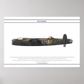 Lancaster BI 207 Squadron Poster