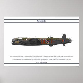Lancaster BI 576 Squadron Poster