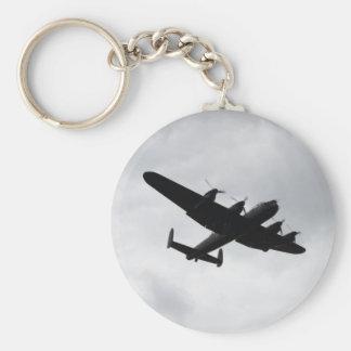 Lancaster Bomber Landing Keychain
