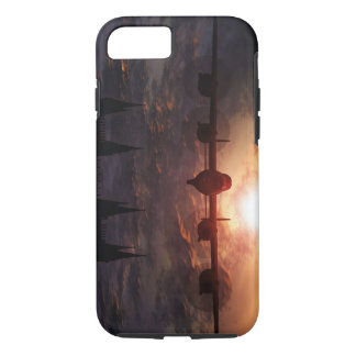 lancaster bomber over lincoln cathedral, iPhone 7 iPhone 7 Case
