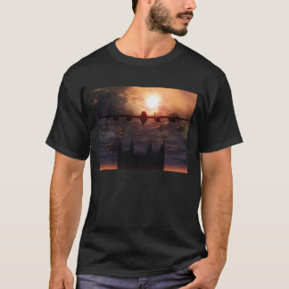 lancaster bomber over Lincoln cathedral shirt