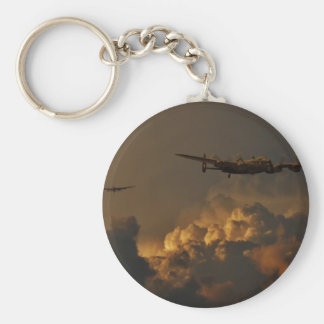 Lancaster bomber STORM Basic Round Button Keychain