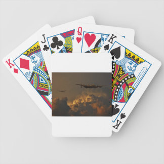 Lancaster bomber STORM Bicycle Playing Cards