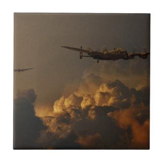 Lancaster bomber STORM Ceramic Tiles