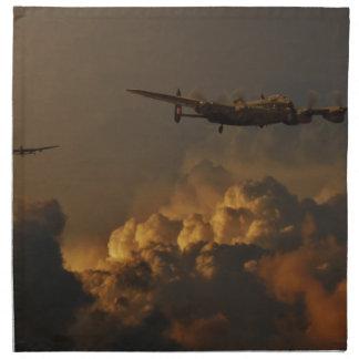 Lancaster bomber STORM Napkin