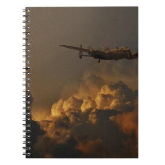 Lancaster bomber STORM Notebook