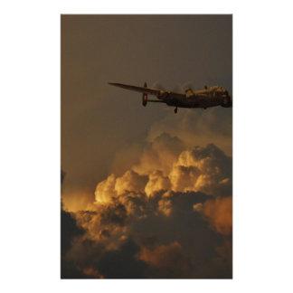 Lancaster bomber STORM Stationery