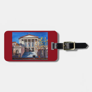Lancaster County Courthouse luggage tag