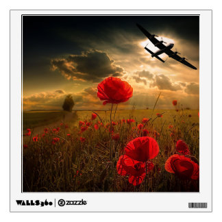 Lancaster Flypast Wall Sticker