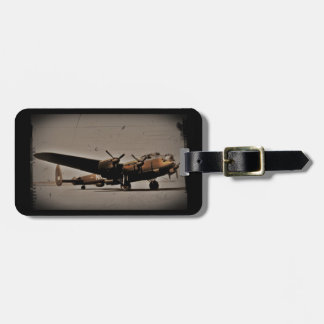 Lancaster Heavy Bomber Luggage Tag