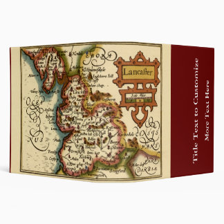 """Lancaster"" Lancashire County Map Binders"