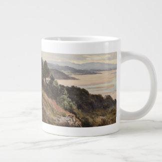 Lancaster Sands Large Coffee Mug