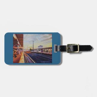 Lancaster Train St Luggage Purse or key chain tag