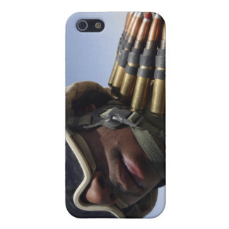 Lance Corporal waits for his turn iPhone 5/5S Case