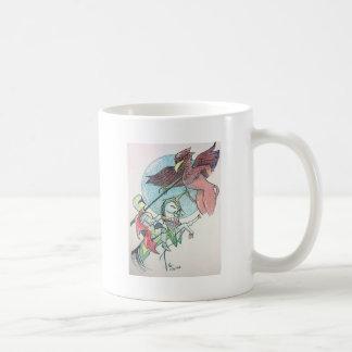 Lancelot and Griffin Coffee Mug