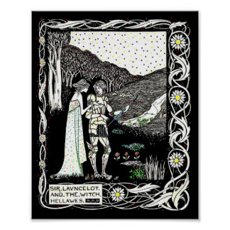 Lancelot and Hellawes the Witch Poster