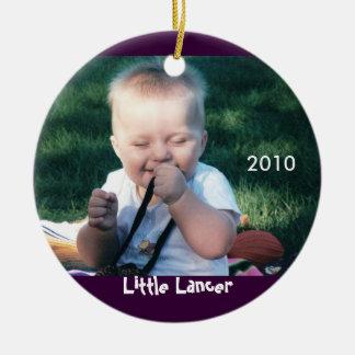 Lancer Photo Ornament