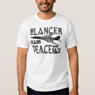 Lancer Stabs Peace in the Back Tees