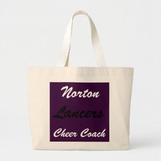 Lancers Cheer Coach Jumbo Tote Bag