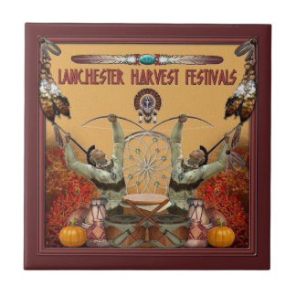 Lanchester Harvest Festivals and PowWow Ceramic Tiles