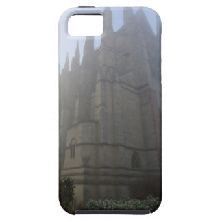 Lancing Chapel in the mist, West Sussex, England, Case For The iPhone 5