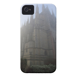 Lancing Chapel in the mist, West Sussex, England, iPhone 4 Cover