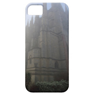 Lancing Chapel in the mist, West Sussex, England, iPhone 5 Cover