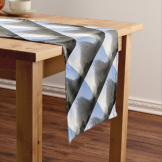 Lancing Chapel in the mist, West Sussex, England, Short Table Runner