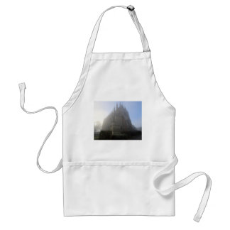 Lancing Chapel in the mist, West Sussex, England, Standard Apron