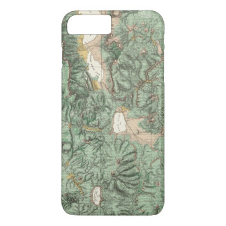 Land Classification Map of Nevada iPhone 7 Plus Case