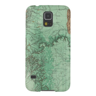 Land Classification Map of New Mexico 2 Galaxy S5 Case