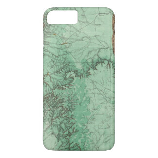Land Classification Map of New Mexico 2 iPhone 7 Plus Case