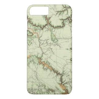 Land Classification Map of New Mexico iPhone 7 Plus Case