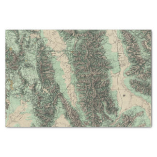Land Classification of Eastern California Tissue Paper