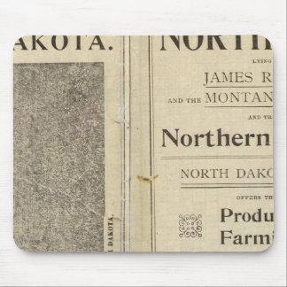 Land Grant of North Dakota Mouse Pad